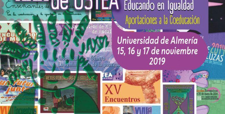 XXX ENCUENTROS FEMINISTAS: TREINTA AÑOS EDUCANDO EN IGUALDAD: APORTACIONES A LA COEDUCACIÓN
